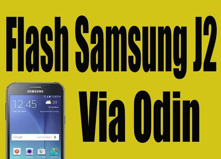 Cara Flash Samsung J200G/DD via Odin