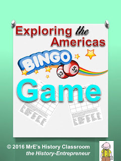 https://www.teacherspayteachers.com/Product/HISTORY-Exploring-The-Americas-BINGO-game-2576963