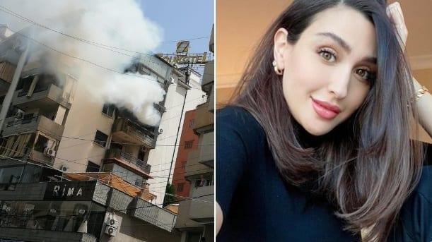 وفاة والد جيسي عبدو  فى حريق كبير بسبب أنبوبة غاز