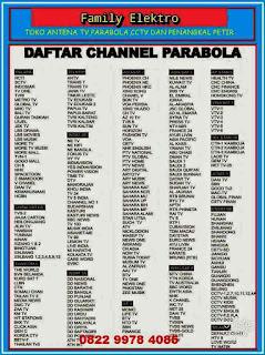Ahli Pasang Parabola Matraman Jakarta Timur