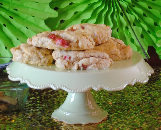 Strawberry scones are perfect for brunch