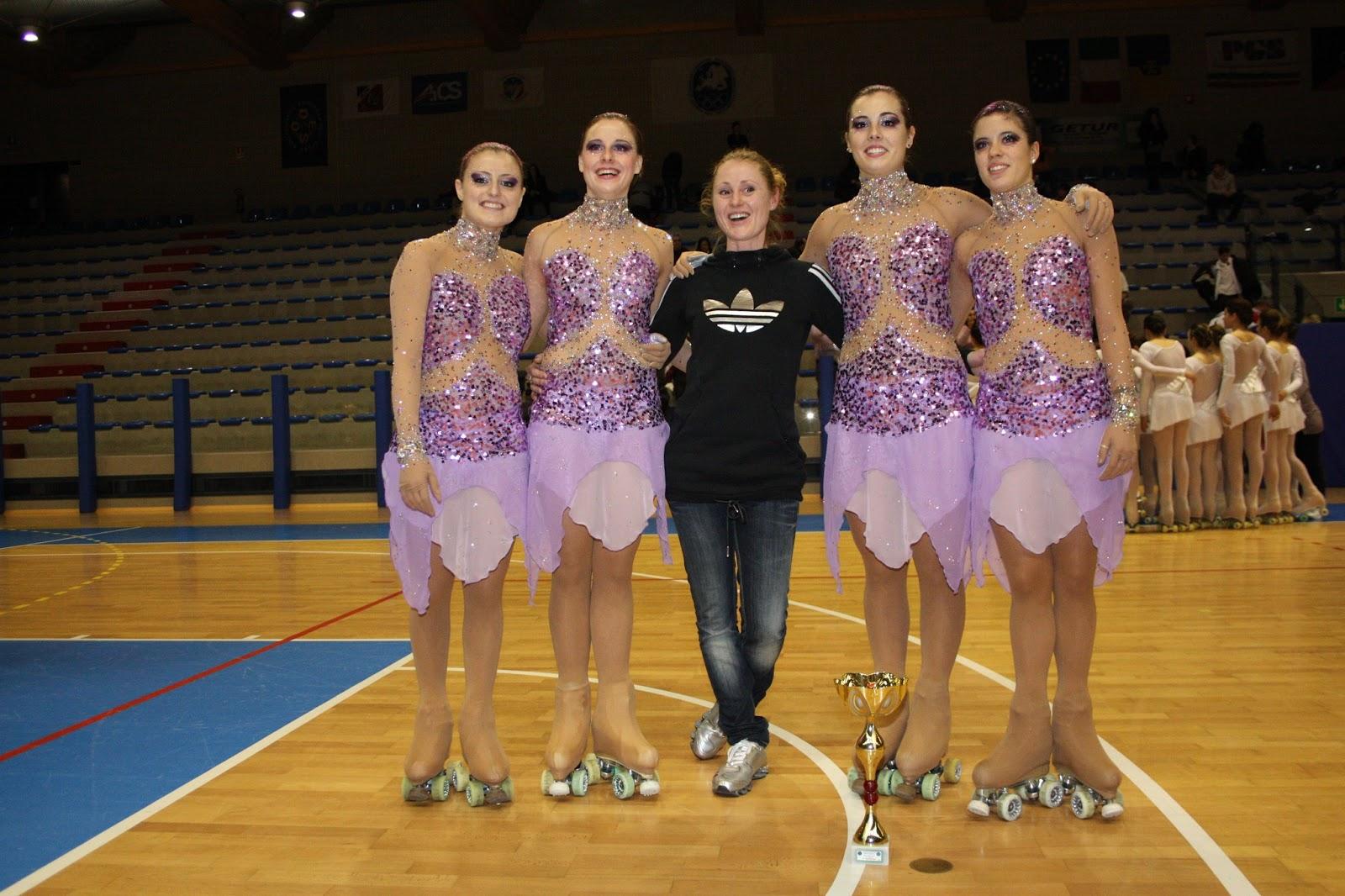e206cb1347 A.S.D. PATTINAGGIO ARTISTICO PIERIS: Campionati Europei Gruppi Spettacolo a  Modena
