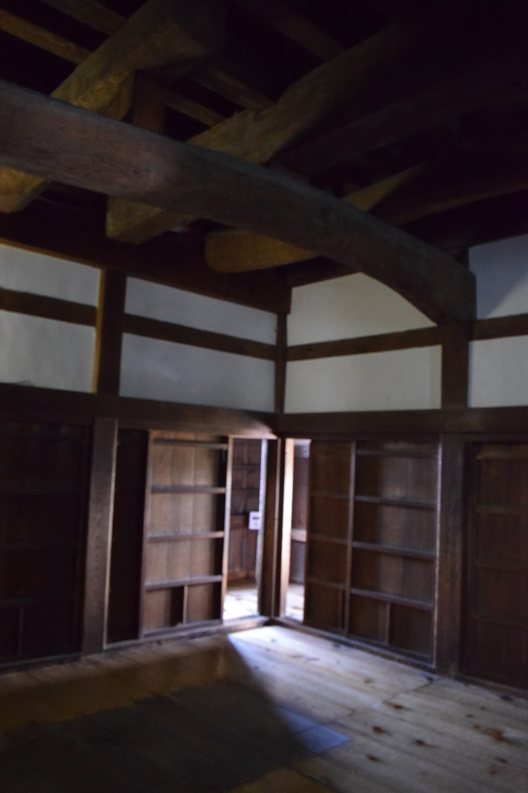 inside Hikone Castle
