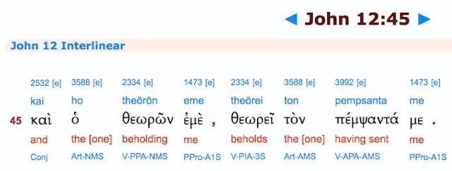 John 12:45