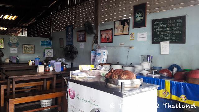 Noodle soup shop in Pua, Nan - Thailand