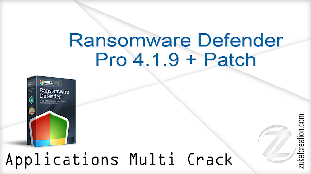 Ransomware Defender Pro 4.1.9 + Patch  |  7.96 MB