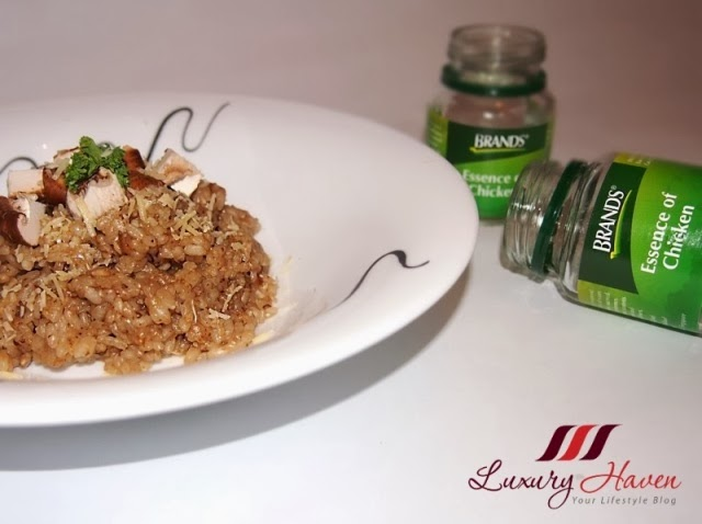 delicious healthy brands chicken essence risotto recipe