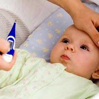 Bayi demam, bayi deare, bayi batuk, bayi muntah