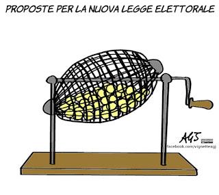 mattarella, legge elettorale, vignetta, satira