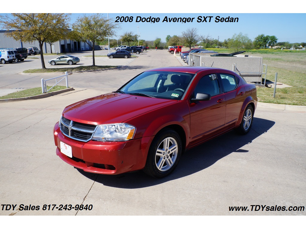 tdy sales for sale 2008 dodge avenger sxt sedan 8 988 dfw texas car deal mike brown. Black Bedroom Furniture Sets. Home Design Ideas