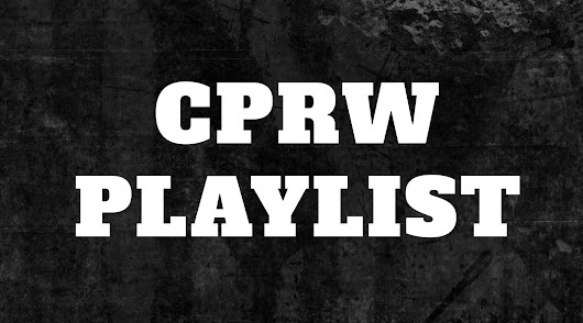 CPRW Playlist: September 2018