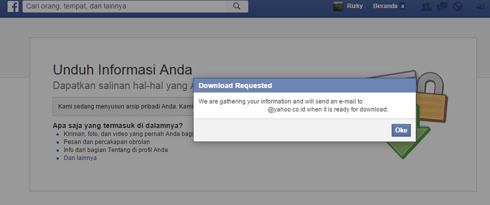 Cara Melihat Pesan Facebook Yang Sudah Dihapus