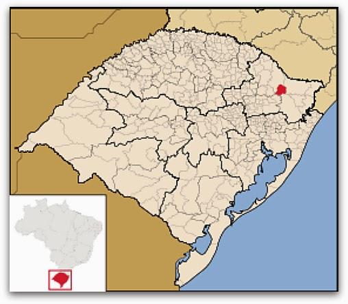 Cidade de Monte Alegre dos Campos, Rio Grande do Sul