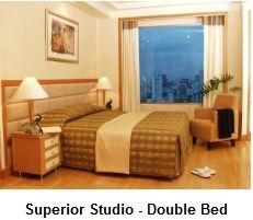 Superior studio room at Jasmine Executive Suites Bangkok