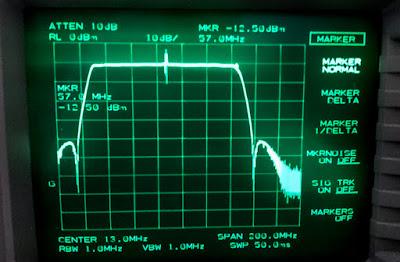 OH2DD Comet CF-50MR alipäästösuotimen mittaus