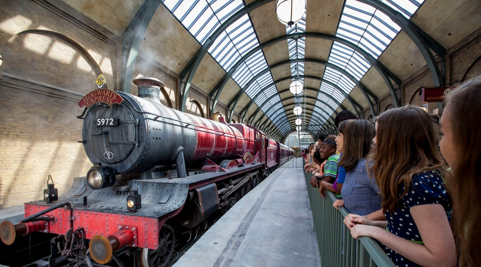 Parkscope: Diagon Alley- Hogwarts Express