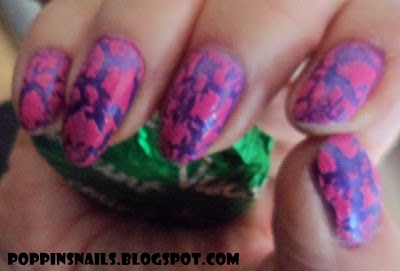 swatch-barry-m-pink-fizz-crackle-shatter-polish-varnish
