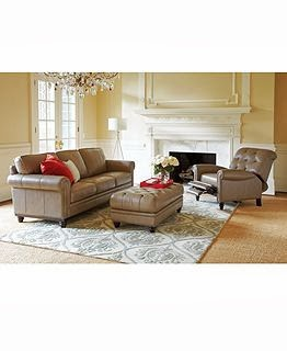 LIVING ROOM FURNITURE: Picture Teddy Fabric Sectional ...