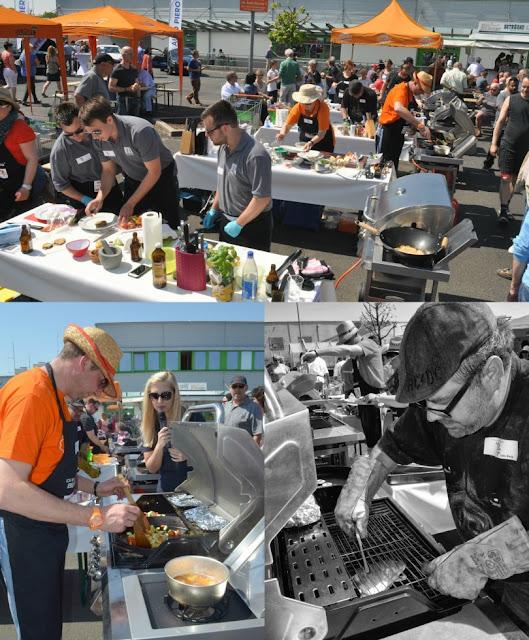 Die Grillmeisterschaft in Gensingen