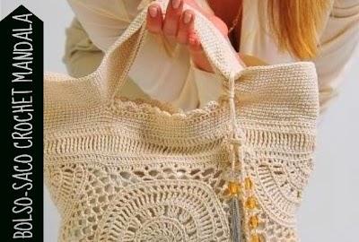 Bolso Mandalas Crochet Patron