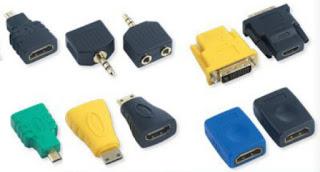 Adaptery z Biedronki HDMI DIV mini Jack