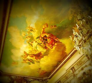 Pintura no Teto do Salão de Baile do Palácio Ortiz Basualdo, em Buenos Aires