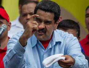 O gospista e comunista Maduro chama de 'golpe de Estado' declaração da OEA contra Venezuela