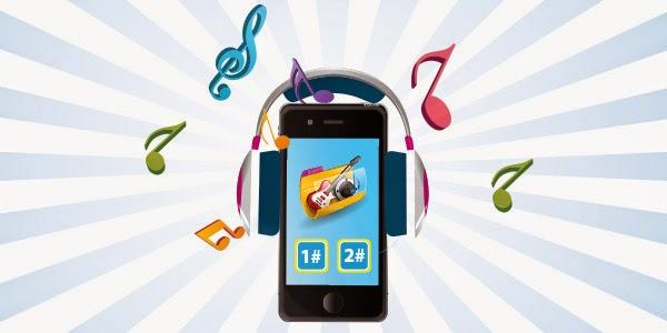 Khuyến mãi từ 2000đ - 16000đ đăng ký nhạc chờ Mobifone