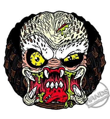 kidrobot Madballs Horrorballs Predator