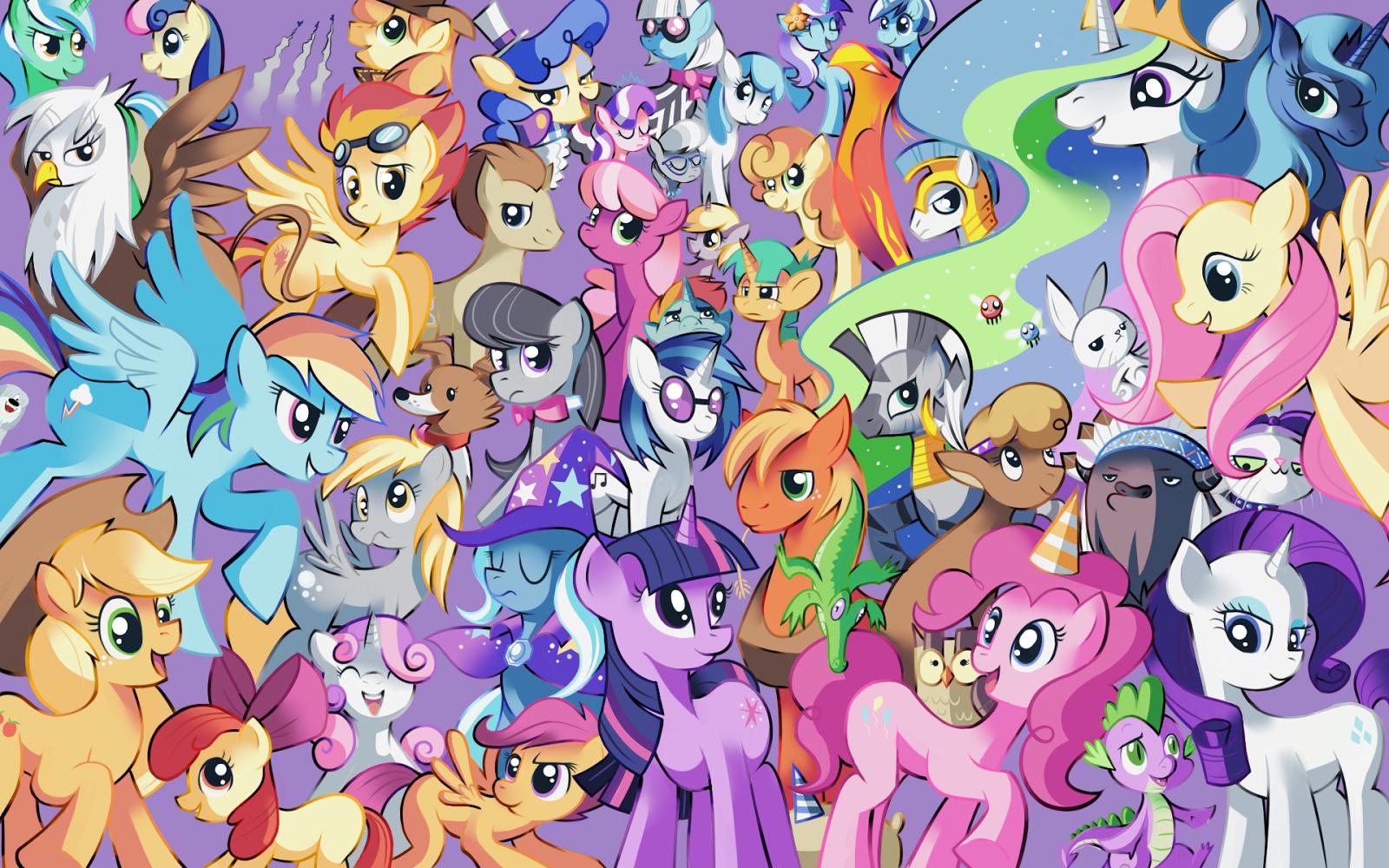 Juego de My Little Pony para colorear gratis - Juegos Xa