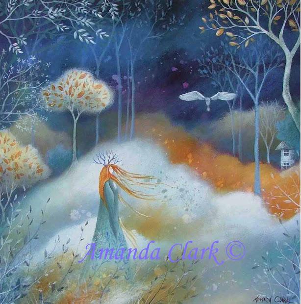 Earth Angels Art. Art And Illustrations Amanda Clark