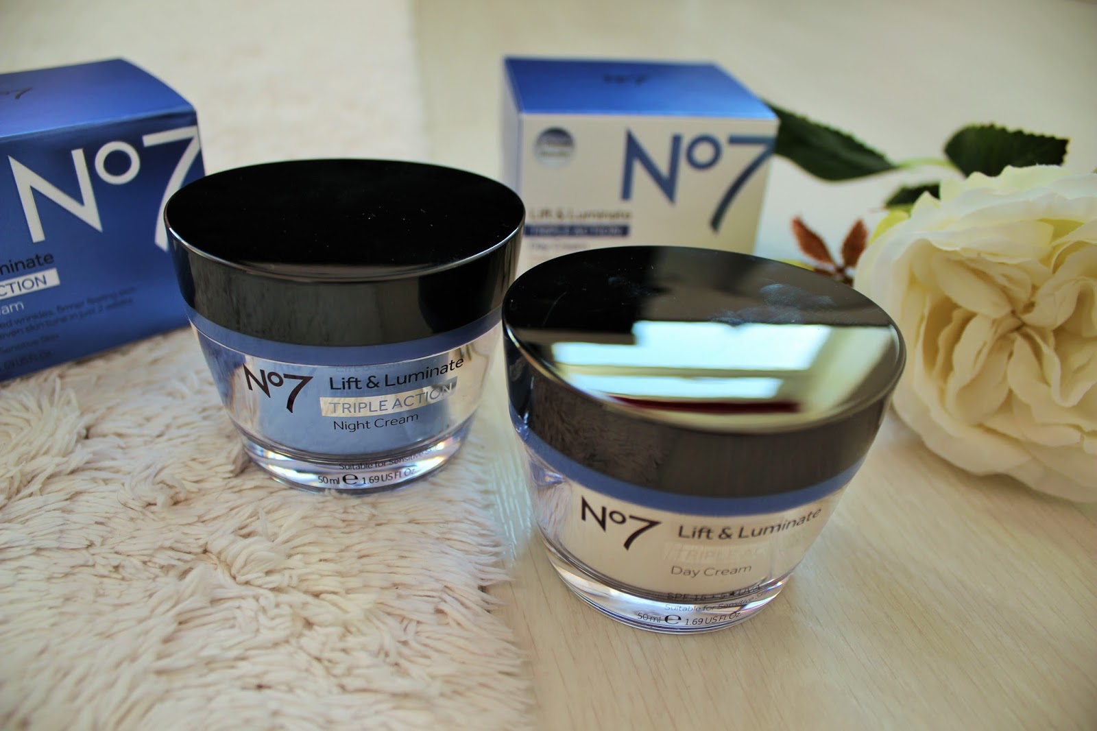 No7 Lift & Luminate Triple Action Range - My Verdict - 4