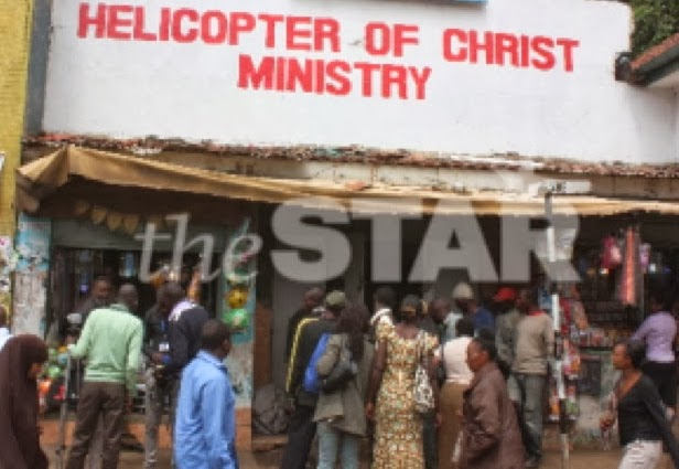 helicopter of christ ministries kenya