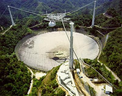 Rádio telescópio de Arecibo