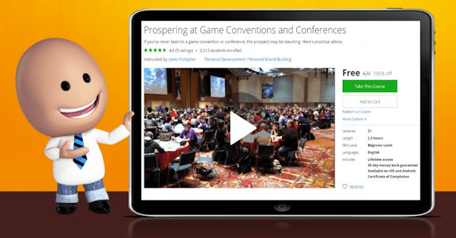 [100% Off] Prospering at Game Conventions and Conferences| Worth 20$