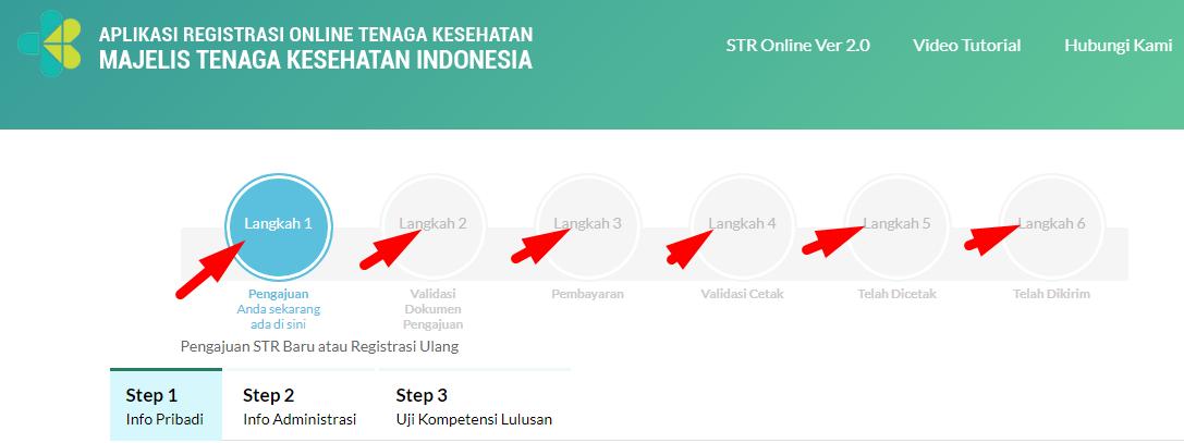 Perpanjangan STR Online