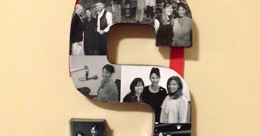 Craft: Photo Letters. Great Gifts.