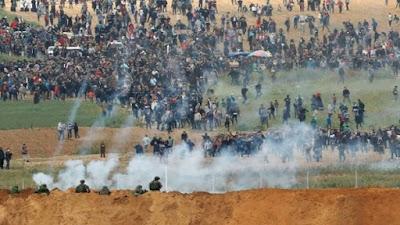مظاهرات غزة