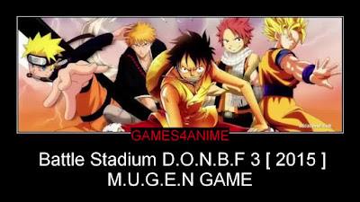 Free Download Game Battle Stadium d.o.n.b.f 3 Mugen 2015 for pc – Hi-Res – Direct Links – Fast Link – 2.25 Gb – Working 100% .