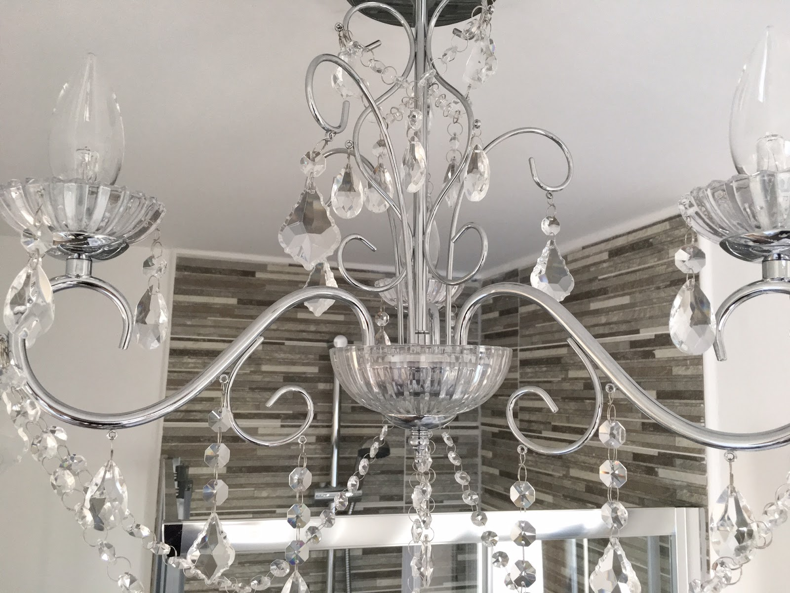 Bathroom Chandelier Lighting The Finishing Touch Vara 3 Light Bathroom Chandelier A Hint Of