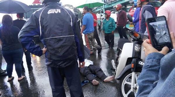 Maut Dipanah Petir Atas Motosikal Ketika Pulang Dari Kerja