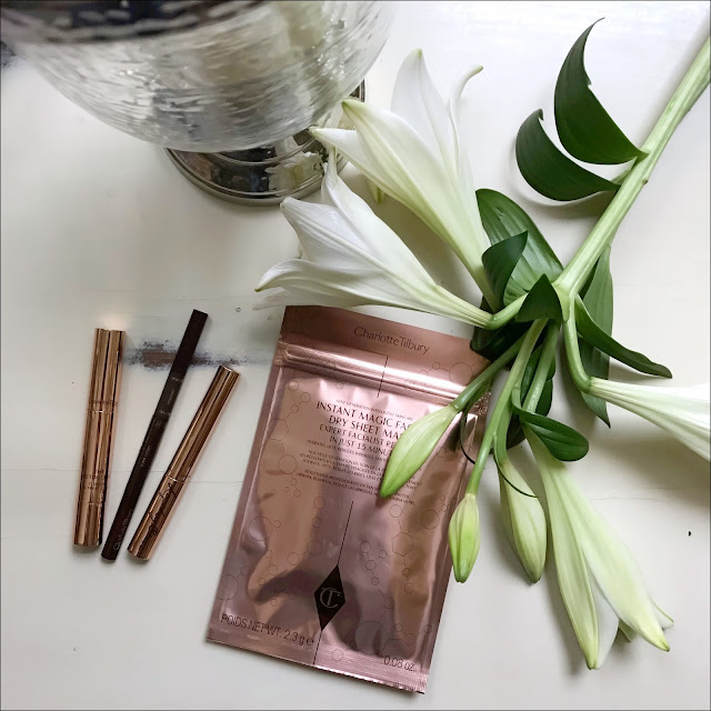 My Midlife Fashion, charlotte tilbury, charlotte tilbury instant magic facial dry sheet mask, charlotte tilbury the retoucher, charlotte tilbury brow lift, charlotte tilbury legendary brows