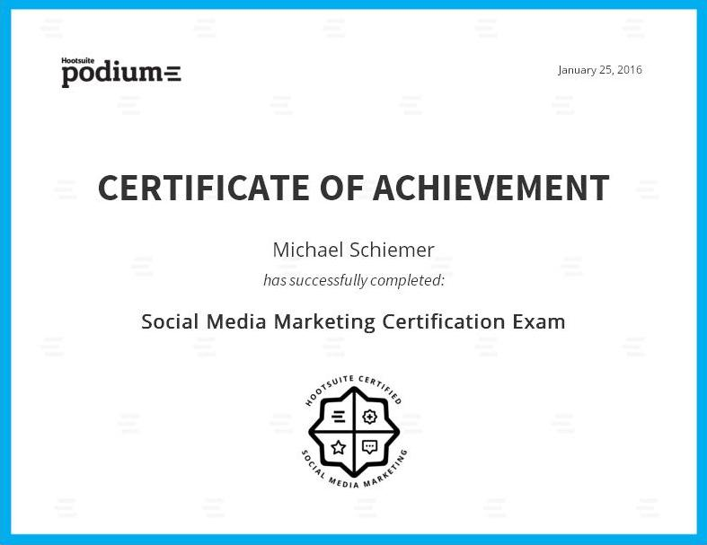 Bootstrap Business: Hootsuite Social Media Marketing Certification Guide