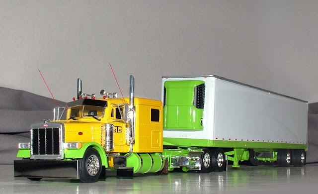 gambar truk modifikasi trailer ala amerika
