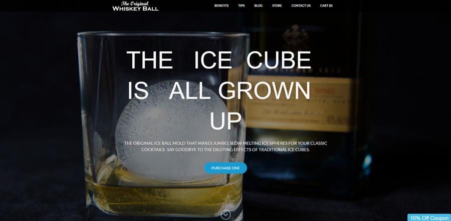 Example Weebly website design