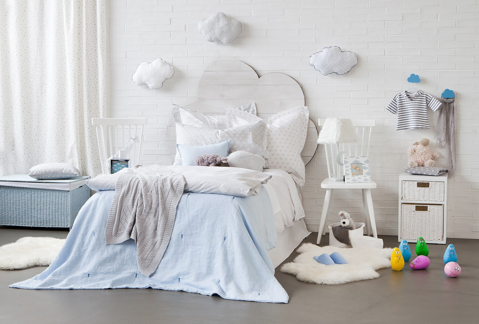 Cloud Wallpaper For Bedroom How To Create A Dreamy Unisex 39cloud 39 Nursery Or Bedroom