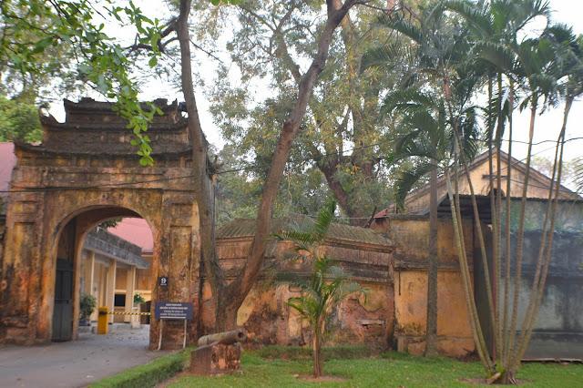 Hanoi, Vietnam, citadelle, unesco