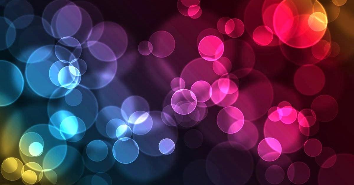 Fondo De Pantalla Abstracto Flores Y Circulos: Fondo De Pantalla Abstracto Circulos De Colores