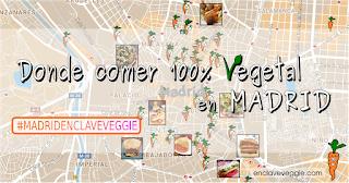 Donde comer vegano en Madrid
