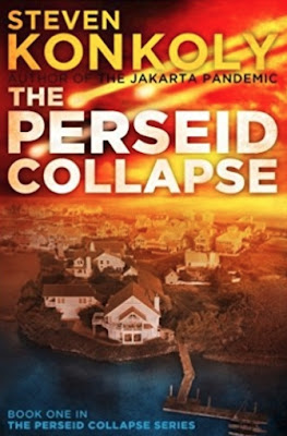 The Perseid Collapse by Steven Konkoly (Book cover)